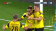 Link öffnet eine Lightbox. Video Aubameyangs 1:1-Ausgleich für den BVB gegen Real Madrid abspielen
