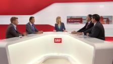 Video «Reaktionen der Parteipräsidenten zu den nationalen Vorlagen» abspielen