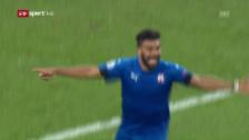 Link öffnet eine Lightbox. Video Zagrebs Tor zum 2:1 – Stich ins Salzburger Herz abspielen