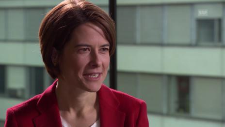 Link öffnet eine Lightbox. Video Rutscht die FDP mit Ihnen nach rechts, Petra Gössi? abspielen