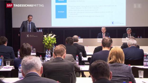 Video «ZKB mit 722 Millionen Franken Gewinn» abspielen