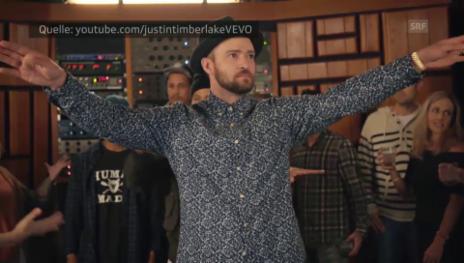 Link öffnet eine Lightbox. Video Justin Timberlake «Can't Stop The Feeling!» abspielen