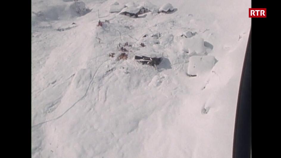 Laschar ir video «La lavina dad Acla»