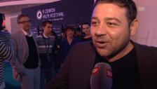 Video «Leonardo Nigro über den Grund seiner Verspätung» abspielen
