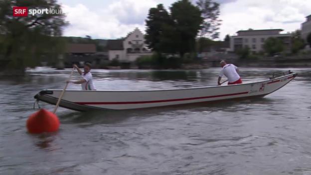 """Video """"Urchige Schweizer Sportarten – das Wasserfahren"""" abspielen."""