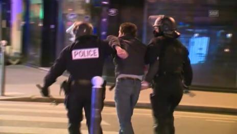 Link öffnet eine Lightbox. Video Polizeieinsatz in Paris bei Strassenprotesten (unkomm.) abspielen
