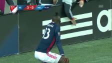 Link öffnet eine Lightbox. Video Witzige Szene aus der MLS: Erst getanzt, dann verwarnt (SNTV) abspielen