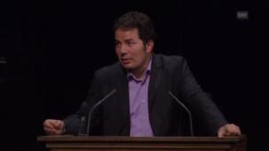 Video «Hamed Abdel-Sabad, Experte der Verteidigung über Meinungsfreiheit und Liberalismus» abspielen