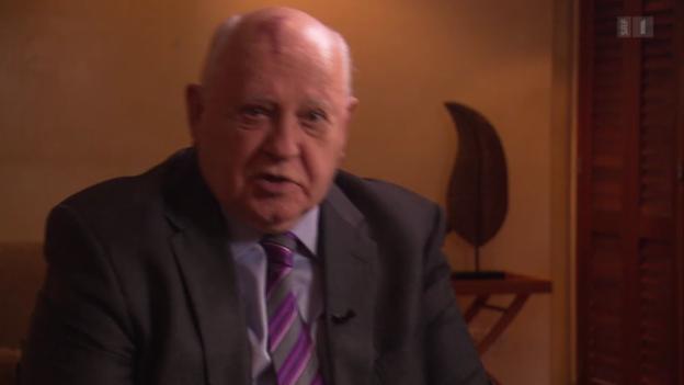 Video «Gorbatschow warnt vor Drittem Weltkrieg» abspielen