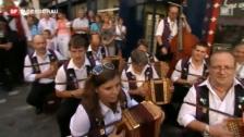Video «11. Eidgenössische Volksmusikfest Chur» abspielen