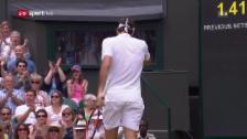 Link öffnet eine Lightbox. Video Federer lässt das Tennisjahr 2016 hinter sich abspielen