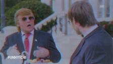 Link öffnet eine Lightbox. Video Der Depp macht den Trump (unkomm.) abspielen