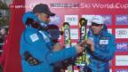 Video «Jansrud und Svindal feiern Doppelsieg» abspielen