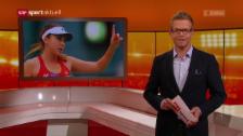 Link öffnet eine Lightbox. Video Bencic sagt für Rio ab abspielen