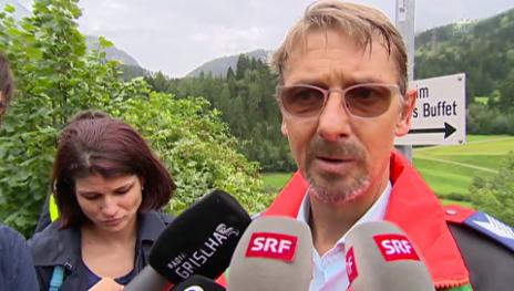 Video «Daniel Zinsli, Mediensprecher Kantonspolizei Graubünden» abspielen