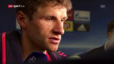 Link öffnet eine Lightbox. Video Rückblick auf Bayerns Out in der Champions League abspielen