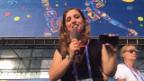 Video «Letzte Mission von «Florence en France»: Die Schweiz an den EM-Final bringen» abspielen