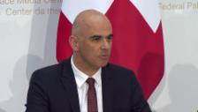 Video «Bundesrat Berset: «Es war eine interessante Debatte»» abspielen