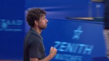 Link öffnet eine Lightbox. Video Satz- und Matchball von Robin Haase abspielen