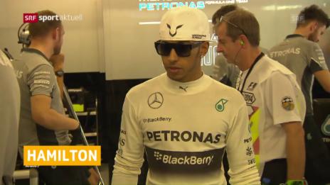 Link öffnet eine Lightbox. Video Schlechte Ausgangslage für Hamilton in Belgien abspielen