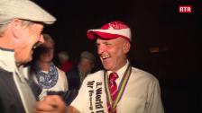 Laschar ir video «Bainvegni glorius pel champiun mundial ad Ardez»