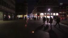 Link öffnet eine Lightbox. Video Lichterumzug in Kopenhagen zum Jahrestag der Terrorangriffe abspielen