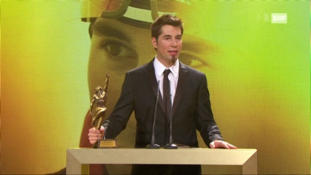 Video ««Sports Awards»: Auszeichnung Benjamin Weger» abspielen