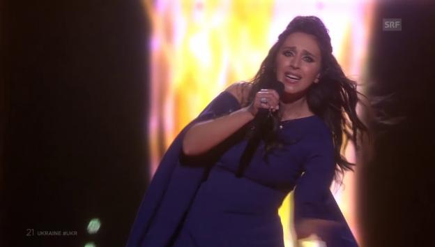 Video «Die Ukraine gewinnt den «Eurovision Song Contest»: Jamala  mit «1944»» abspielen