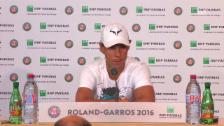Link öffnet eine Lightbox. Video Nadal verkündet vor den Medien seinen Rückzug abspielen