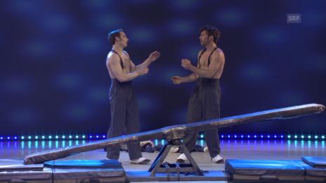Link öffnet eine Lightbox. Video Young Stage Basel 2013: Zirkusstars von morgen abspielen