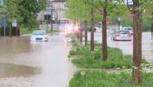 Link öffnet eine Lightbox. Video Heftige Regenfälle: Schwäbisch Gmünd am Tag danach abspielen