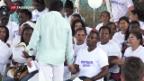 Video «FARC-Kommandanten entschuldigen sich» abspielen