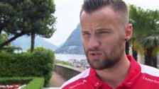 Link öffnet eine Lightbox. Video Haris Seferovic über die Saison, den Konkurrenzkampf und das Belgien-Spiel abspielen