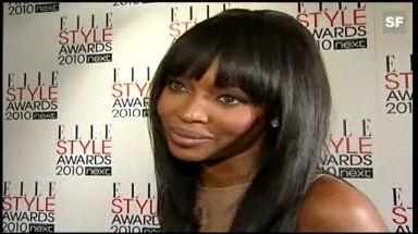 Naomi Campell wird an den Elle Style Awards von allen gefeiert. - glanz & gloria - TV - Play SRF - Schweizer Radio und Fernsehen - 640