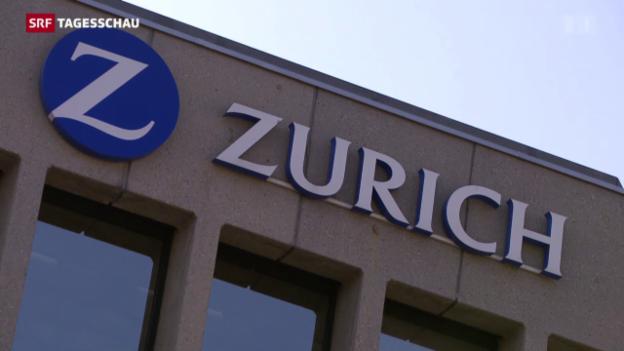 Video «Schlechte Zahlen bei «Zürich»-Versicherung» abspielen