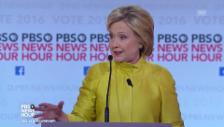 Link öffnet eine Lightbox. Video Sie schenken sich nichts: Clinton versus Sanders abspielen