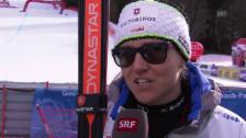 Link öffnet eine Lightbox. Video Ski: Interview Fabienne Suter abspielen