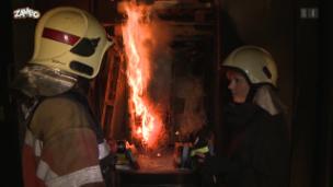 Video «Wie löscht man ein Feuer?» abspielen