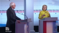 Link öffnet eine Lightbox. Video Sie schenken sich nichts: Clinton vs Sanders abspielen