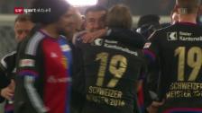 Link öffnet eine Lightbox. Video Basel macht Meistertitel mit Sieg über Sion perfekt abspielen