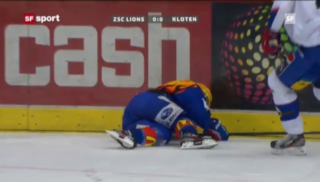 Video «Die unglückliche Szene von Roman Wick («sportaktuell» vom 20.12.2012)» abspielen