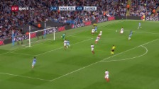 Link öffnet eine Lightbox. Video Die Tore von Manchester City - Steaua Bukarest abspielen