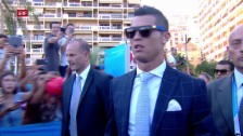 Link öffnet eine Lightbox. Video Cristiano Ronaldo in Monaco abspielen