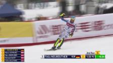 Link öffnet eine Lightbox. Video Slalom-Entscheidung zusammengefasst – Neureuther von 5 auf 1 abspielen