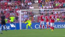 Link öffnet eine Lightbox. Video Schweiz verliert Testspiel gegen Belgien abspielen