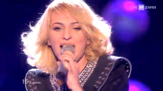 Albanien - Juliana Pasha - Eurovision Song Contest - TV - Play SRF - Schweizer Radio und Fernsehen - 640