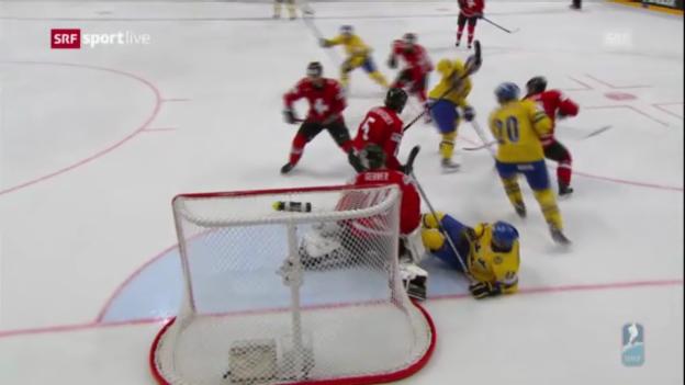 Video «Höhepunkte Schweiz - Schweden («sportlive»)» abspielen