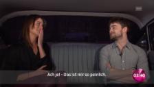 Link öffnet eine Lightbox. Video Ausschnitt aus der Limo-Fahrt mit Daniel Radcliffe abspielen
