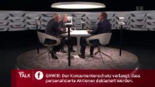 Video «Zuschauerfrage: Personalisierte Aktionen und Datenschutz» abspielen