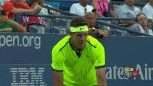 Link öffnet eine Lightbox. Video Del Potros 1. Sieg an den US Open seit 2013 abspielen